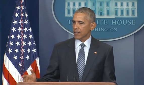 Obama on Trump Election 'The People Have Spoken'